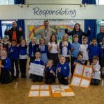 Horsendale Primary School smashes fundraising target for homelessness project